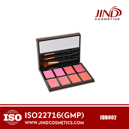 Professional , Best Seller Blush Packaging Palette Custom Logo Makeup Face Smooth Blush Powder Palette